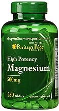 Puritan's Pride Magnesium Tablets