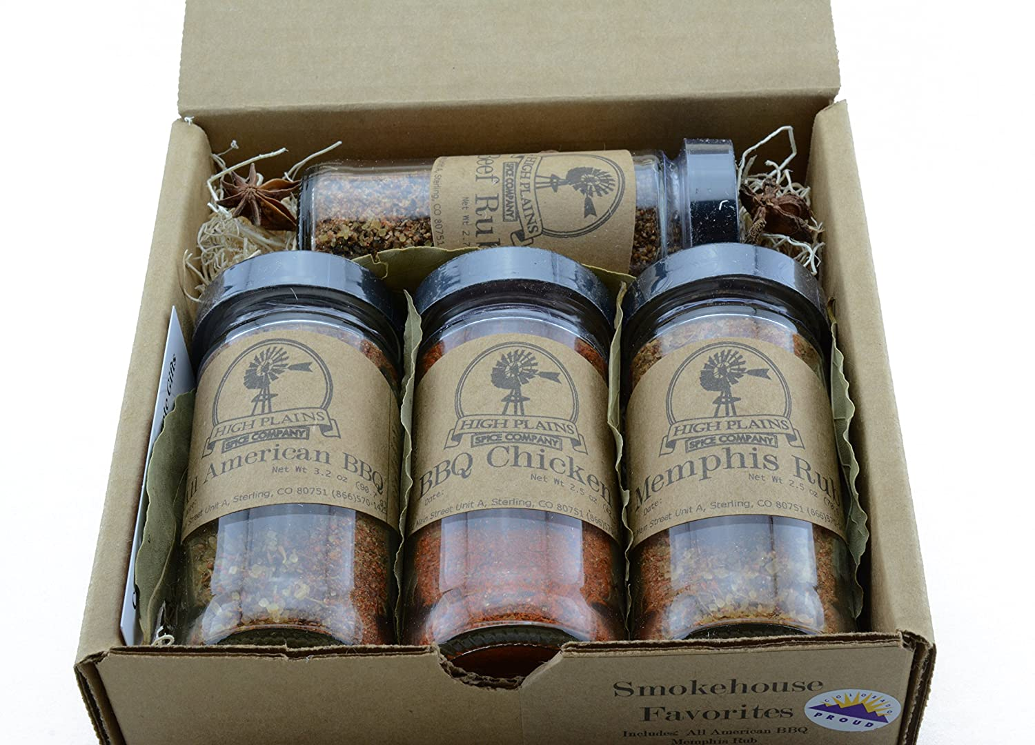 Amazon.com : Smokehouse Favorites ~ BBQ Rub and Spices Gift Set ...