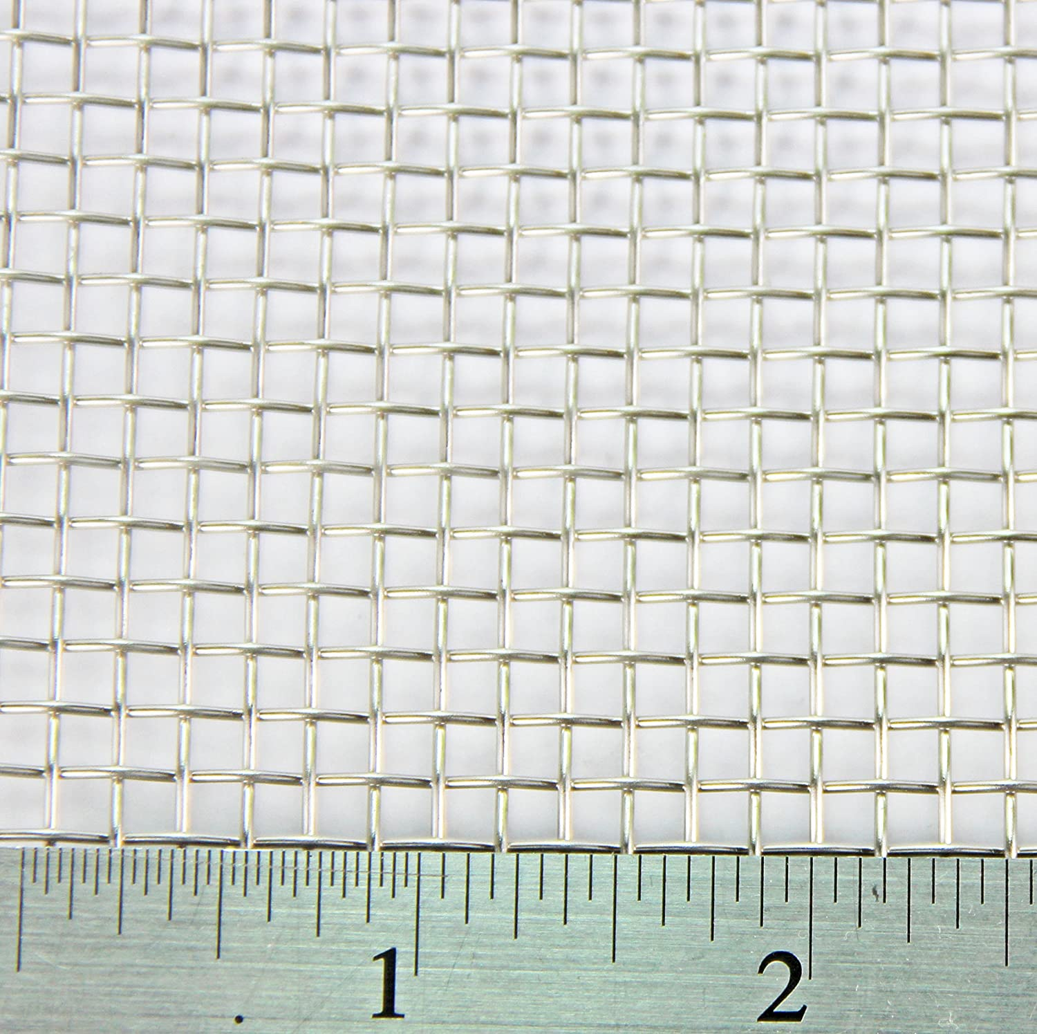 3.3mm Hole Heavy Duty #6 Stainless Steel Mesh 3 PACK = A3 300 x 420mm x 3