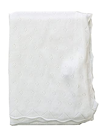Baby Bright Swaddle Blanket for New Born Infant Made from Ultra Soft 100/% Viscose Shawls for New Baby Soft Warm Cozy Shawl Blanket for New Born Size 80 110 cms