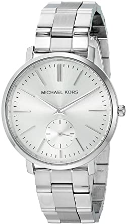 759365c10377 Image Unavailable. Image not available for. Color  Michael Kors Women s  Jaryn Japanese-Quartz Watch ...