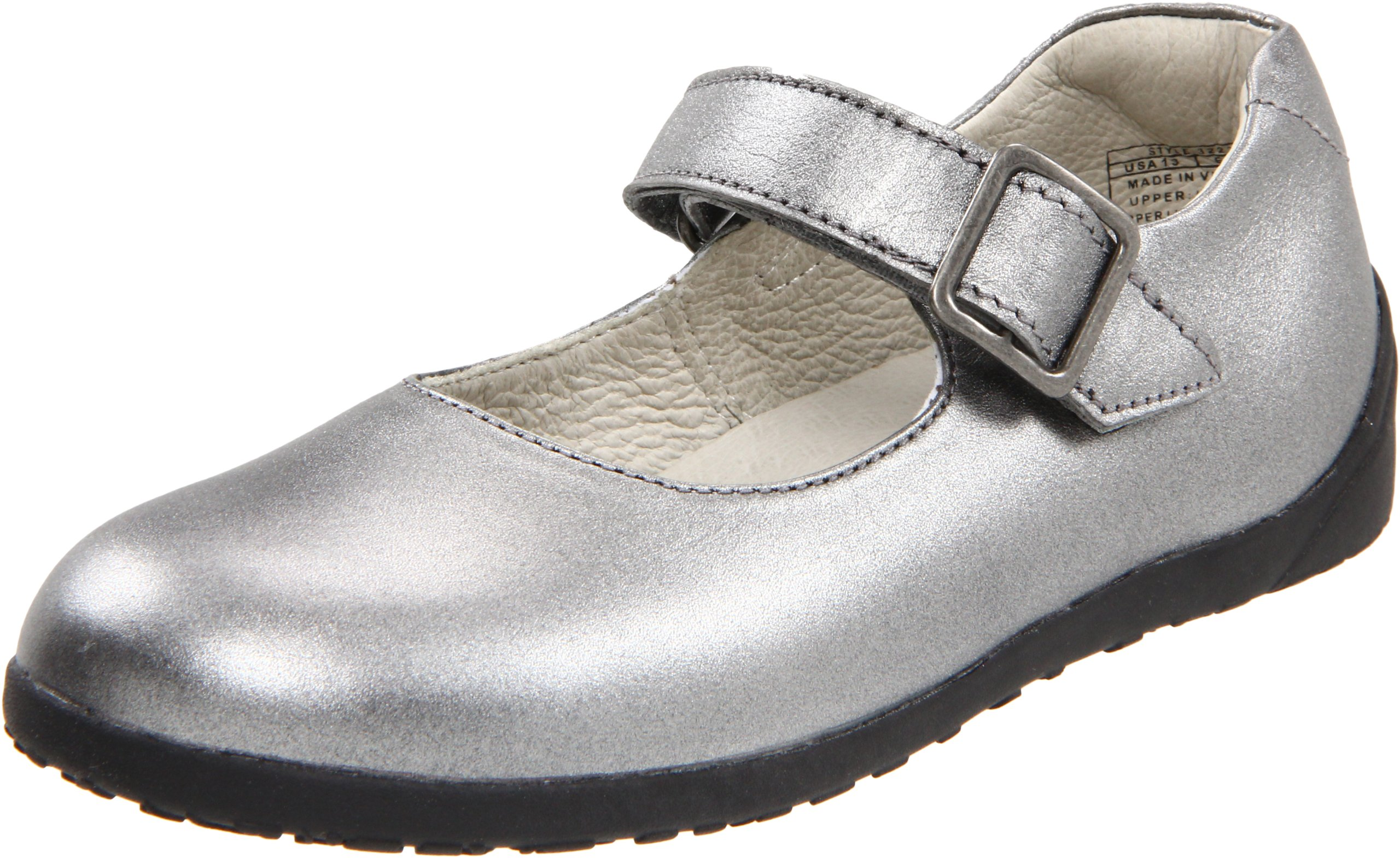 umi Cassie Mary Jane (Toddler/Little Kid/Big Kid),Pewter,35 EU(3 M US Little Kid)