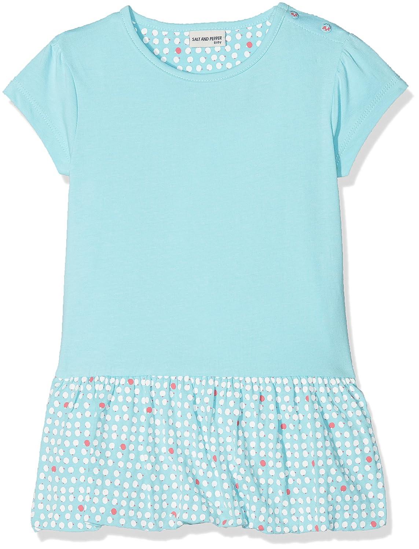 SALT AND PEPPER Baby-M/ädchen Kleid B Dress Love Uni Ballon