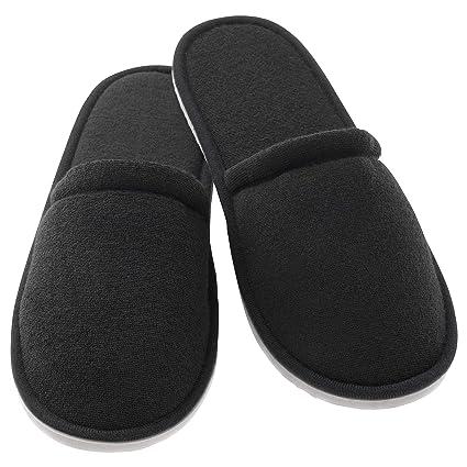 1ff7eb13c9e Amazon.com  IKEA 803.190.99 Slippers Black  Home   Kitchen