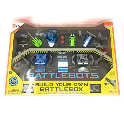 HEXBUG BattleBots Battle Box (COS1321000): Toys & Games
