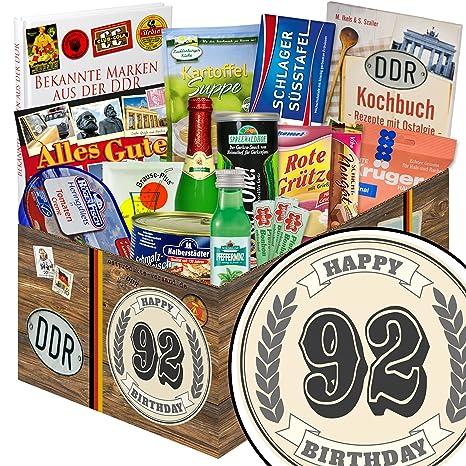 92 Geburtstagsgeschenk Spezialtiaten Geschenkset Geschenk Korb