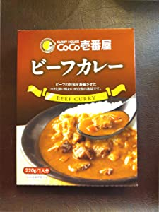 CoCo Ichibanya Curry House, beef curry (pack of four) (Original Version)