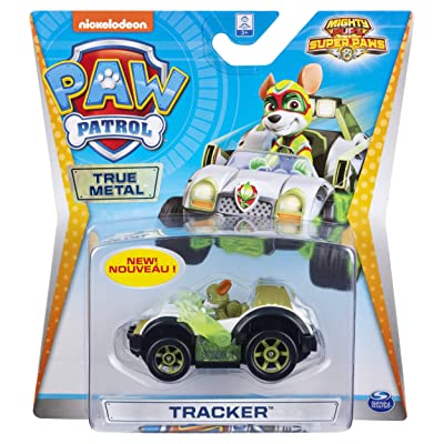 Nickelodeon Paw Patrol Tracker Die-Cast Car 1.55 Scale: Toys & Games