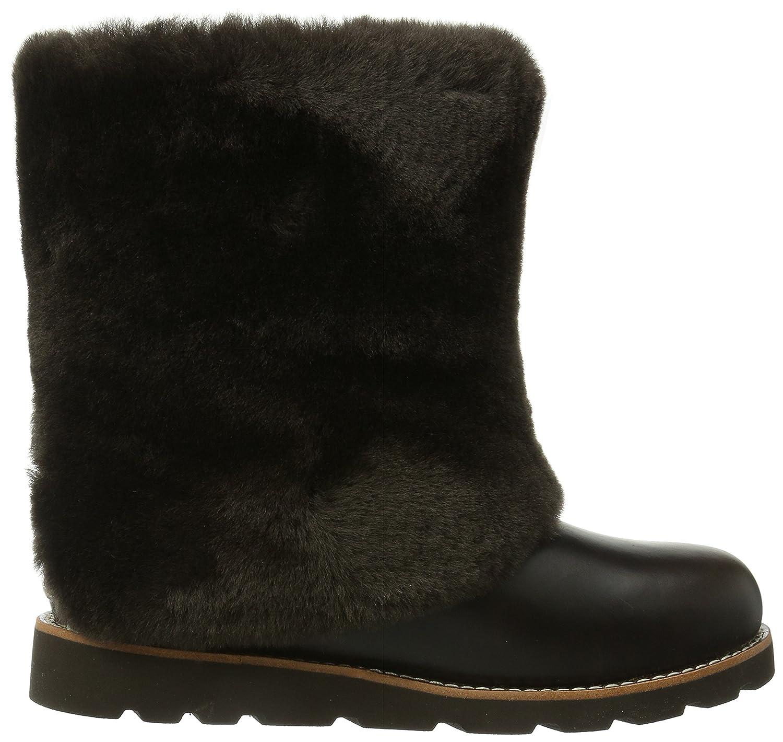 Amazon.com | UGG Australia Women's Maylin Boots, Stout Leather, 12 US | Snow Boots