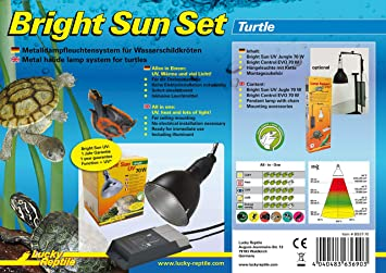 Lucky Reptile Bsst 70 Bright Sun Lampe Chauffante En Set Avec Culot