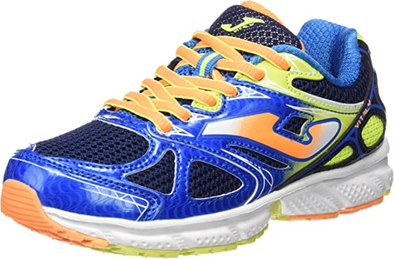 Joma J.VITALY JR 603 Azul-Naranja - Zapatillas para Correr para ...