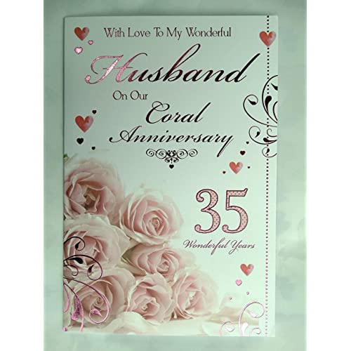 Birthday Cards For Husband Amazon Co Uk: 35th Anniversary Gifts: Amazon.co.uk