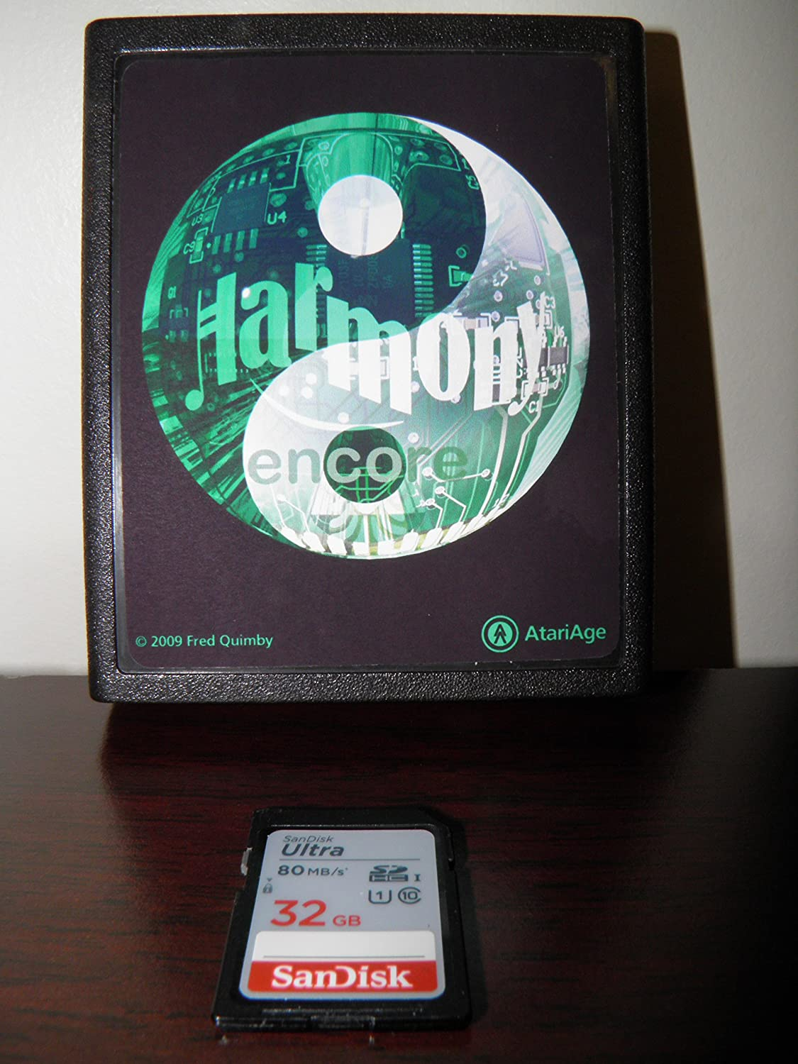 Amazon com: Atari 2600 Harmony Encore SD Wafer Drive (cartridge