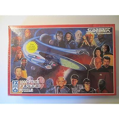 Star Trek, 1000 Piece F.X. Schmid Puzzle: Toys & Games