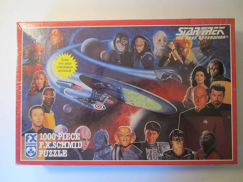 Star Trek, 1000 Piece F.X. Schmid Puzzle by F.X. Schmid