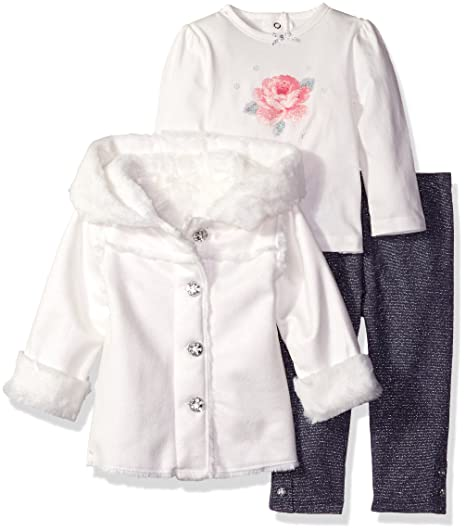 cc5215f35877 Image Unavailable. Image not available for. Color  Little Me Baby Girls  3  Piece Jacket ...