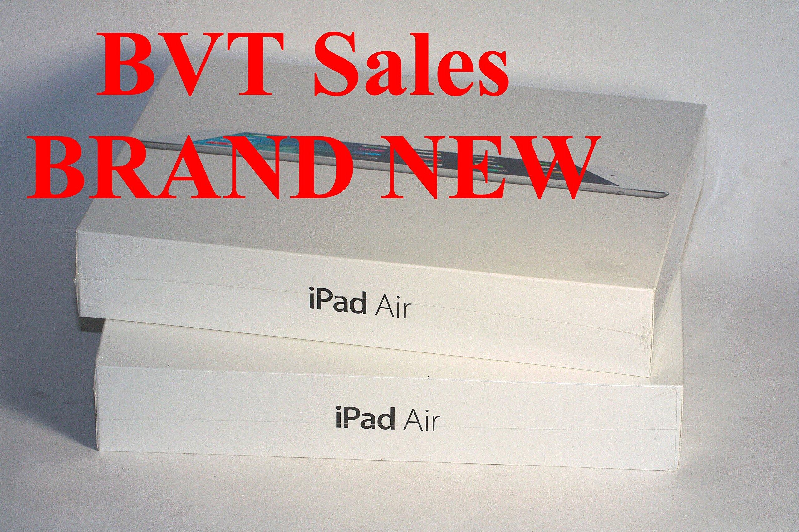 Apple iPad AIR MF012LL/A (64GB, Wi-Fi + 4G LTE, White with Silver)