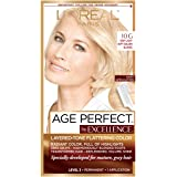 L'Oreal Paris ExcellenceAge Perfect Layered Tone Flattering Color, 10G Very Light Soft Golden Blonde (Packaging May Vary…