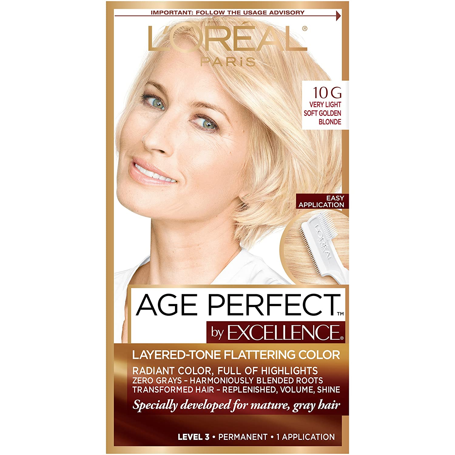 LOreal Paris ExcellenceAge Perfect Layered Tone Flattering Color
