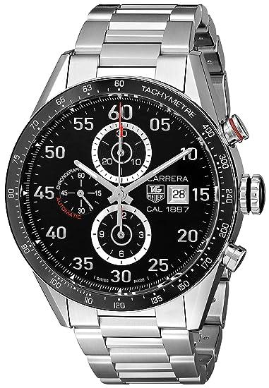 TAG Heuer CAR2A10.BA0799 - Reloj para Hombres, Correa de Acero Inoxidable: Amazon.es: Relojes