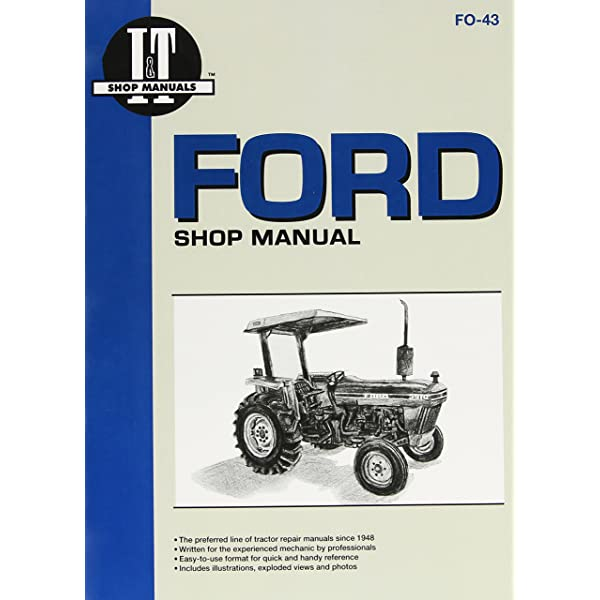 ford model 2810, 2910 & 3910 tractor service repair manual: intertec  publishing: 9780872886216: amazon.com: books  amazon
