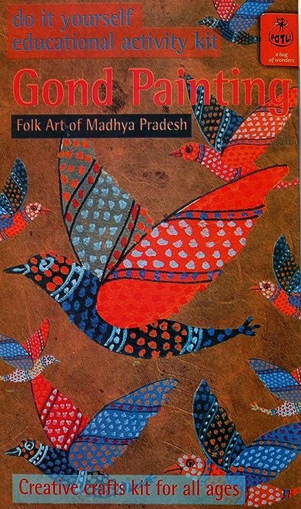 Buy potli diy indian art kit gond painting multi color online at potli diy indian art kit gond painting multi color solutioingenieria Image collections