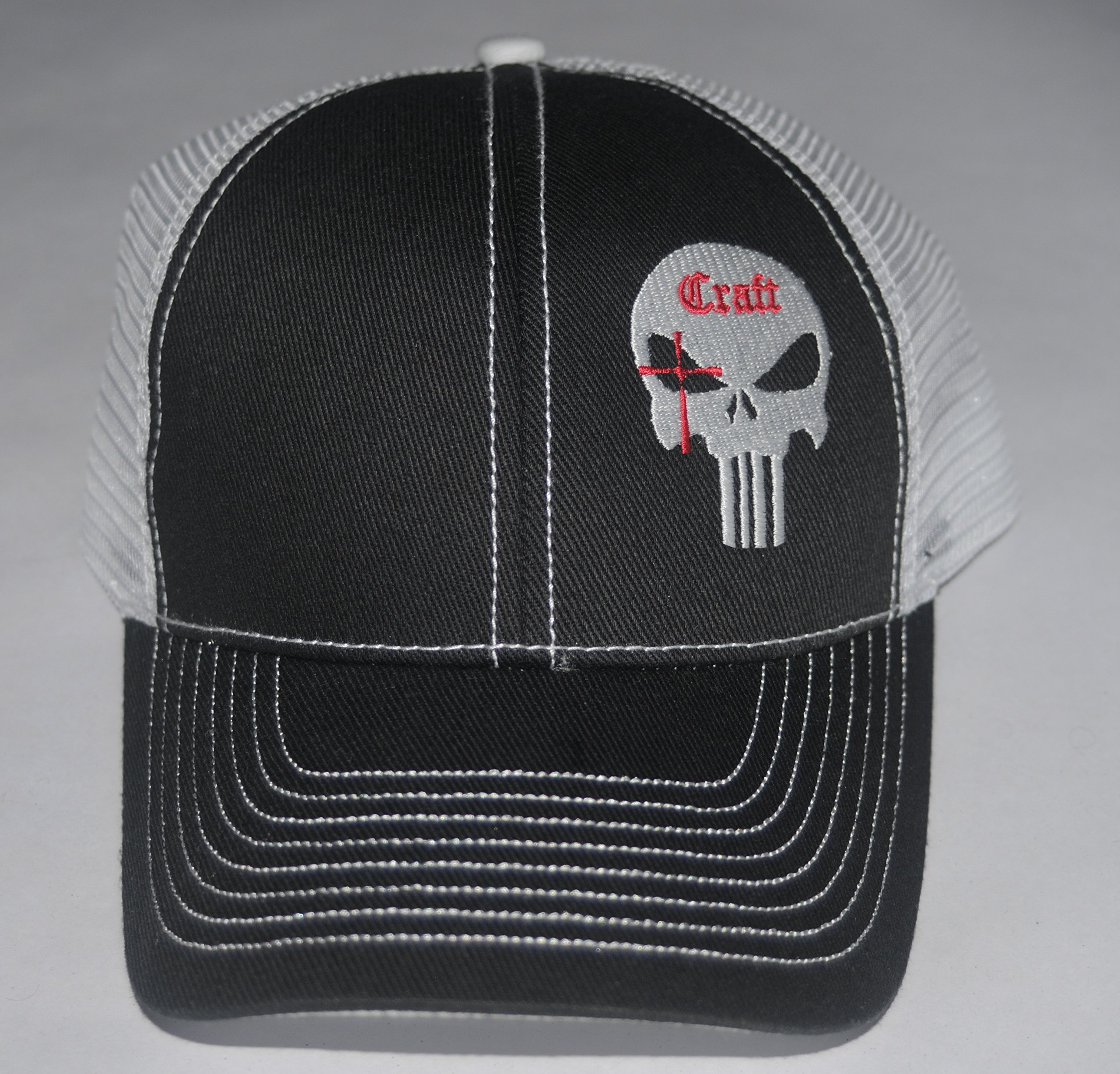 6e086ca25db Galleon - Black Chris Kyle Hat Official Craft International Mesh Shooters  Cap Adjustable American Sniper
