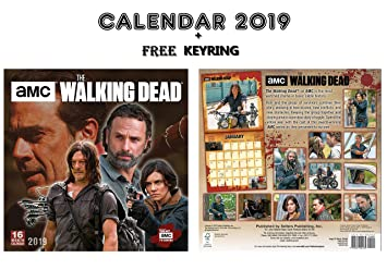 THE WALKING DEAD OFFICIAL CALENDARIO 2019 INCLUDING THE ...