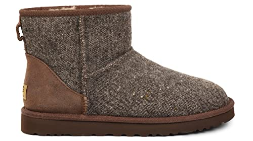 817e62ad7af UGG Mens Classic Mini Donegal Winter Boot Grizzly Donegal Size 9