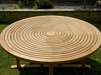 chelsea home and leisure ltd Teck Swirl Table 180 cm avec Plateau ...