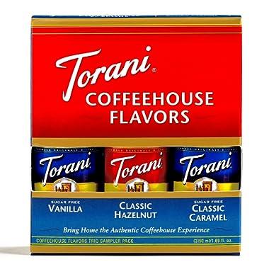 Torani Syrup Trial Size Sampler 3-Pack (1 Item Per Order)