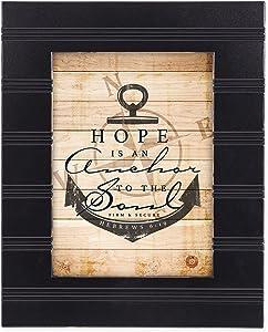 Cottage Garden Hope is an Anchor Black 8 x 10 Sentimental Framed Art Plaque - Holds 5x7 Photo