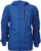Paradox Men's Waterproof Breathable Rain Jacket (Large, Cobalt ...