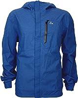 Paradox Men&39s Waterproof Breathable Rain Jacket (Large Cobalt
