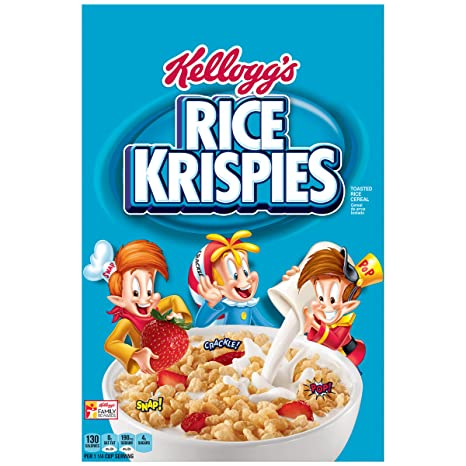 Image result for rice krispies box
