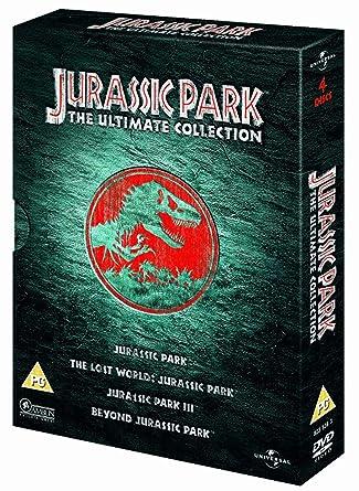 Jurassic Park Trilogy [Reino Unido] [DVD]: Amazon.es: Jurassic Park: Cine y Series TV