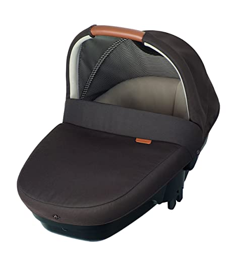 Bébé Confort AMBER - Cuco de seguridad, grupo 0 (0-10 kg), 0-6 meses aprox, color earth brown