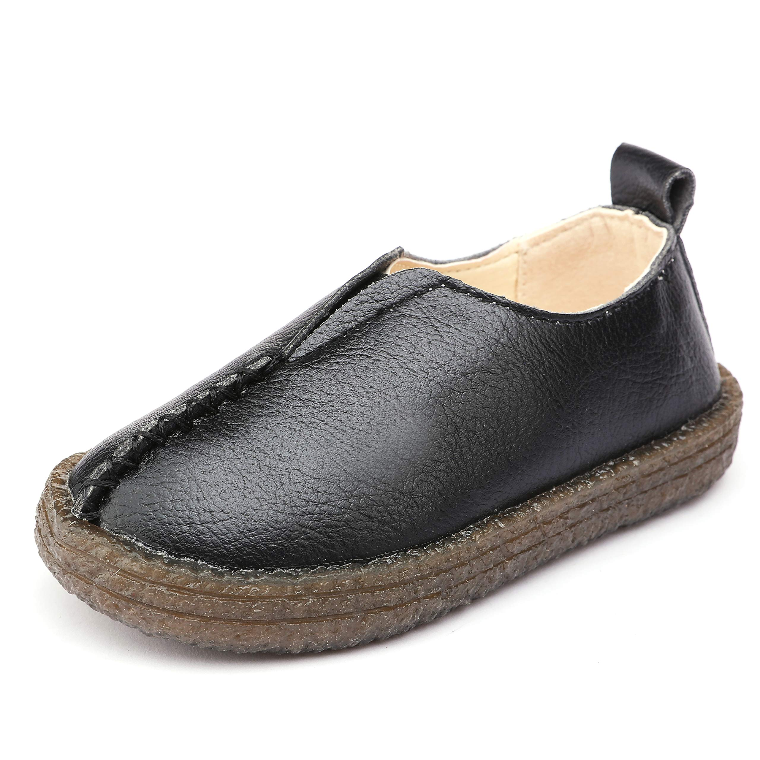 UBELLA Boys's Slip On Loafers Casual Boat Dress Shoes Flats (Toddler/Little Kid)