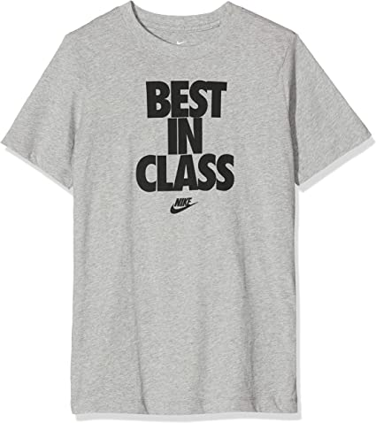 NIKE B NSW tee Best In Class - Camiseta de Manga Corta Niños: Amazon.es: Deportes y aire libre