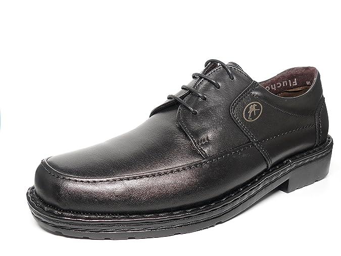 Zapatos hombre FLUCHOS - Piel con cordones disponible en Marrón y Negro - 7263 - 6 y 7 (43, marrón)