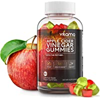 Apple Cider Vinegar Gummies - Delicious Apple Flavored Gummies with The Mother for Immune System - Enzyme, Detox Cleanse and Weight Loss Support, a Great Alternative to Apple Cider Vinegar Capsules