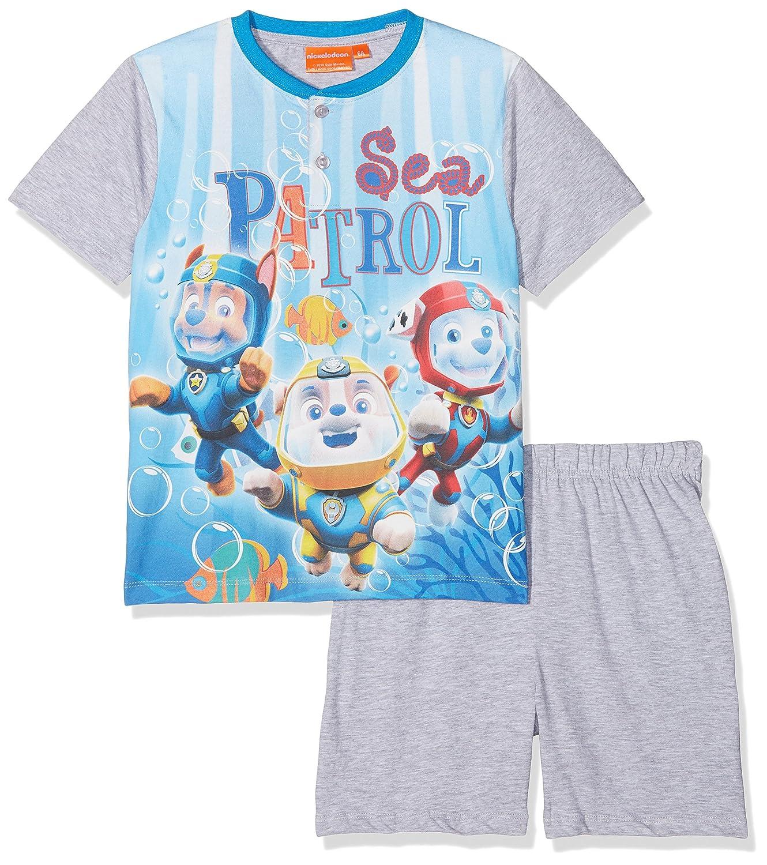 Disney Paw Patrol - ER7262.106 - Lightning Mcqueen - Ensemble de Pyjama courtes - Mixte Enfant