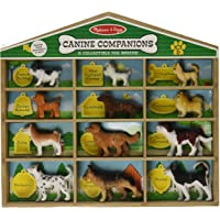 Melissa & Doug Canine Companions Pretend Play Figures - 12 Collectible Dog Breeds