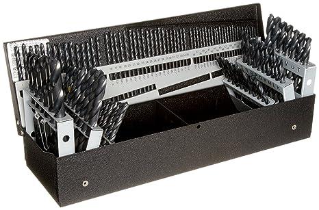 Precision Twist Drill C115combset Hss Jobber Drill Set,118Deg
