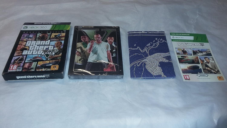 Grand Theft Auto 5 GTA V - Edición Especial - UK EDITION [Xbox 360 ...
