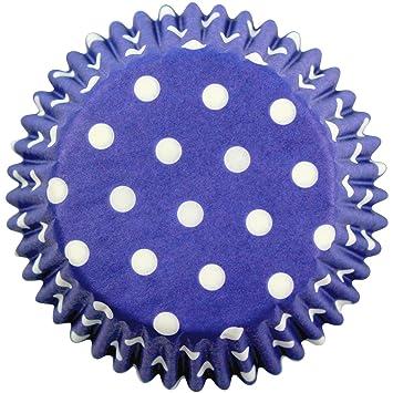 PME Estuches de Papel de Lunares Azules para Hornear ...