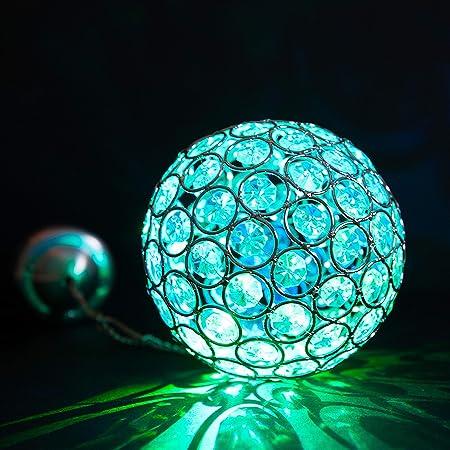 IP44 Solar LED Außen Leuchte Garten Terrassen Lampe Farbwechsel Licht Big Light