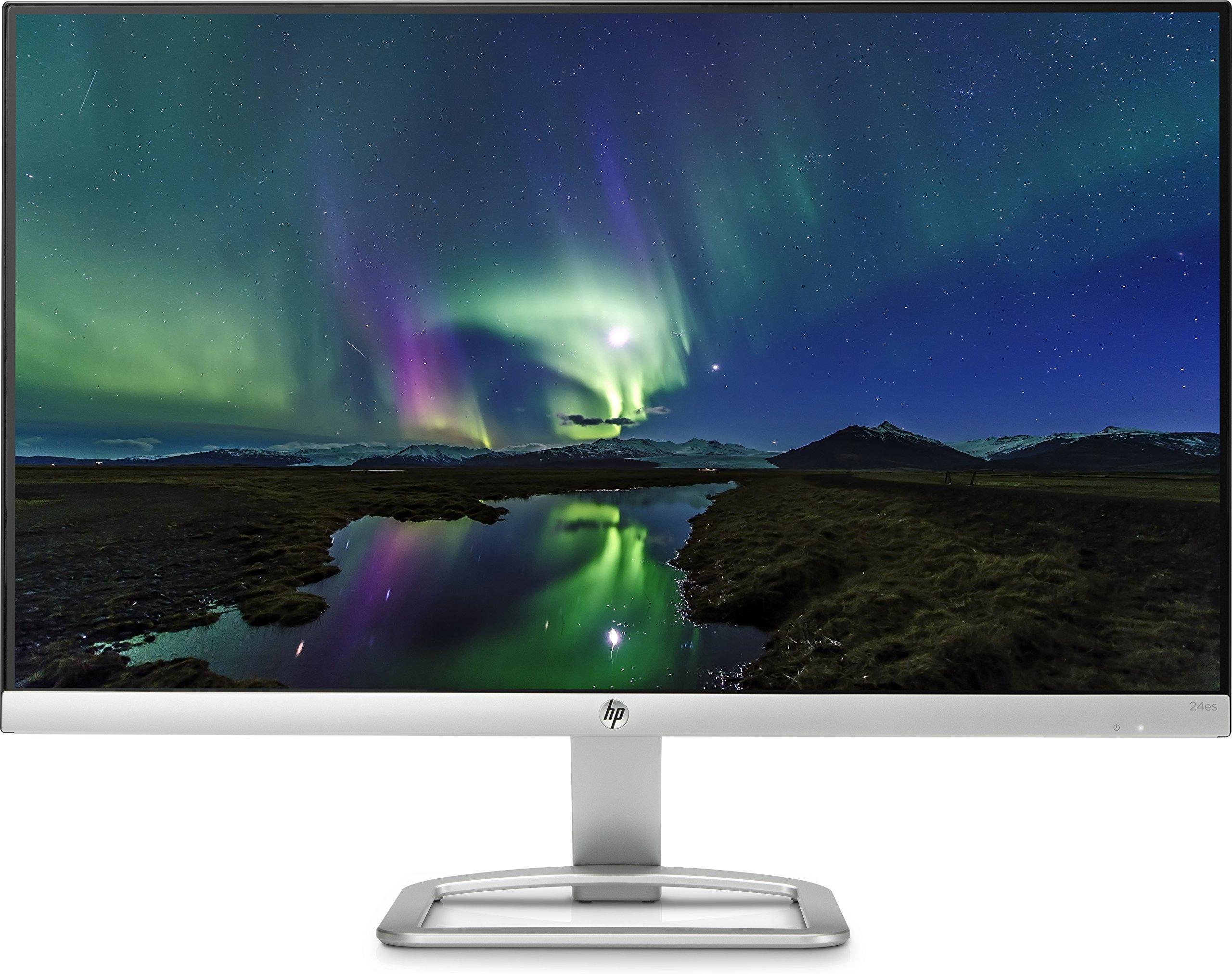 """HP 24es Ecran PC Full HD 23,8"""" Argent/Noir (IPS/LED, 60,45 cm, 1920 x 1080, 16:9, 60 Hz, 7 ms) (Ref: T3M78AA) product image"""
