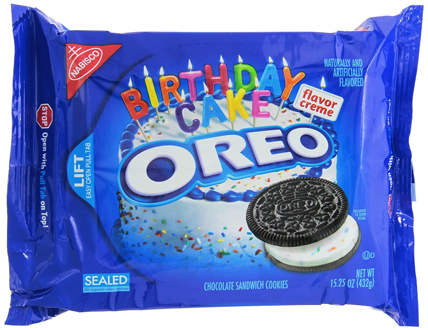 Oreo Cookie Birthday Cake Recipe