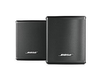 bose speakers wireless. bose virtually invisible 300 wireless surround speakers (black)